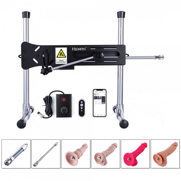 Remote Controlled Sex Machine Bundle With Dildo Attachments, Best Toys For Women
